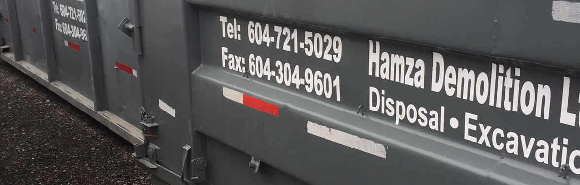 Bin Services in Vancouver BB